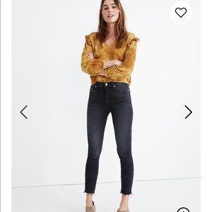 "Madewell 10"" High Rise Skinng Jeans"